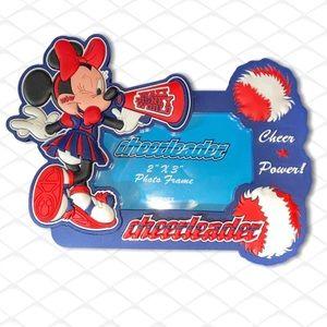Minnie Mouse cheerleader magnet photo frame Disney